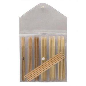 Billigtpyssel.se | Stickset Bamboo - Strumpstickor 15 cm