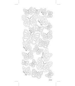 Billigtpyssel.se | Sticky Shapes - Fjärilar