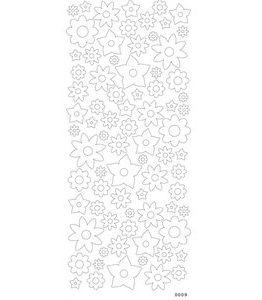 Billigtpyssel.se | Sticky shapes  - Blommor