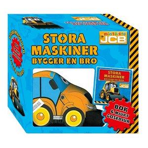 Billigtpyssel.se | Stora maskiner bygger en bro - presentbox