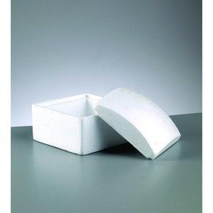 Billigtpyssel.se | Styrolitbehållare 130 x 100 mm - kvadrat