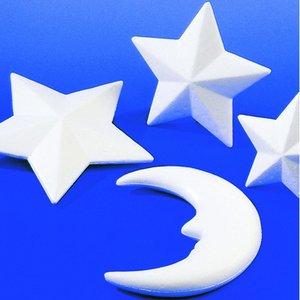 Billigtpyssel.se | Styrolitform 150 mm - Stjärna kantig