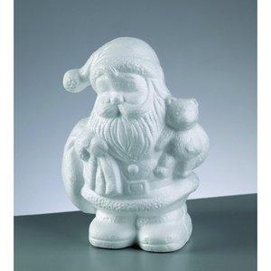 Billigtpyssel.se | Styrolitform 180 mm - Jultomten med björn