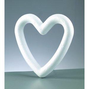 Billigtpyssel.se | Styrolitform 200 mm - hjärtformad ram
