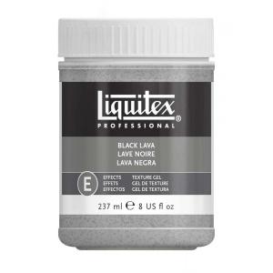 Billigtpyssel.se | Svart lava Liquitex 237 ml