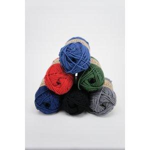 Billigtpyssel.se | Svarta Fåret Tilda Cotton Eco garn 25g