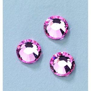 Billigtpyssel.se | Swarovski strass platta stenar ø 3-5 mm - ljus ros