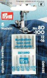 Billigtpyssel.se | Symaskinsnålar Sys. 287(690) Standard 70-100 5 st