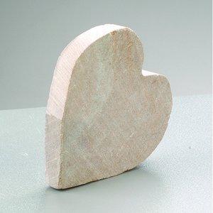 Billigtpyssel.se | Täljsten blank ~ 6 - 8 cm - Hjärta