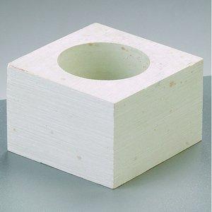 Billigtpyssel.se   Täljsten kub 6 x 6 x 4 cm - Värmeljushållare
