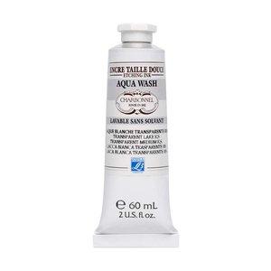 Billigtpyssel.se | Tjockt Transparent medium Aqua Wash Charbonnel Ink. Medium - 60 ml