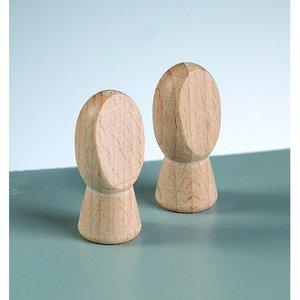 Billigtpyssel.se   Trähänder L 32 x 15 mm - obehandlat 2 st. 8 mm borrhål