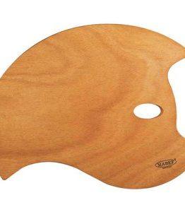 Billigtpyssel.se | Träpalett Mabef - Fladdermus 36x49  cm