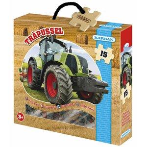 Billigtpyssel.se | Träpussel Traktor