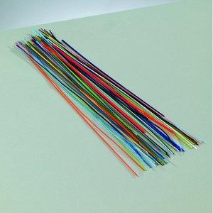 Billigtpyssel.se | Tråd emalj l ~ 150-170 mm - blandade färger 10 g långa trådar