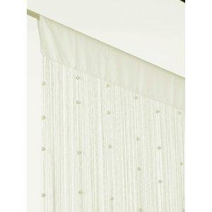 Billigtpyssel.se | Trådgardiner med pärlor - 90x225 cm - finns i flera olika färger