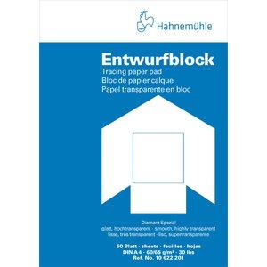 Billigtpyssel.se | Tracingblock Hahnemühle Diamant 90/95g
