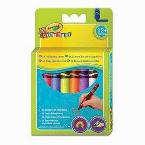 Billigtpyssel.se | Triangelkritor Crayola Minikids - 16 kritor