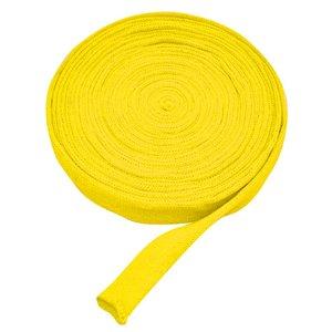 Billigtpyssel.se | Tubstickad väv 3 cm gul