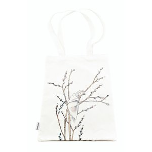 Billigtpyssel.se | Tygpåse Eko Bomull Videung - 40 x 28 cm