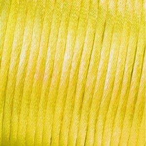 Billigtpyssel.se | Vävtråd satin - gul