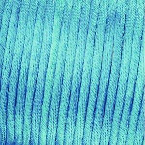 Billigtpyssel.se | Vävtråd satin - ljusblå