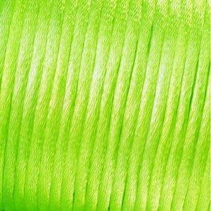 Billigtpyssel.se | Vävtråd satin - ljusgrön