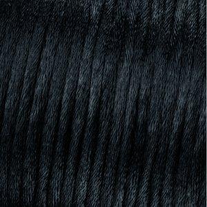 Billigtpyssel.se | Vävtråd satin - svart