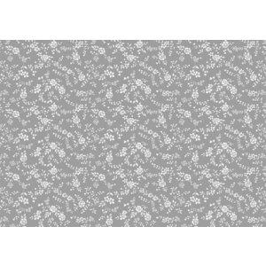 Billigtpyssel.se   Vaxduk Blommor & blad - Guld