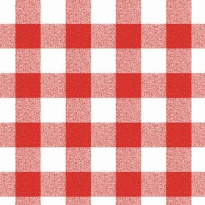 Billigtpyssel.se | Vaxduk - Röd-Vit-Rutig - 140 cm
