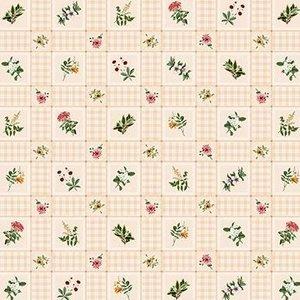 Billigtpyssel.se | Vaxduk Rutig Blommor