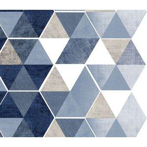 Billigtpyssel.se | Vaxduk Triangel mönster - Valfri färg