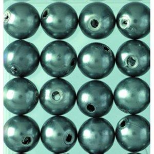 Billigtpyssel.se   Vaxpärlor ø 8 mm - antracit 32-pack
