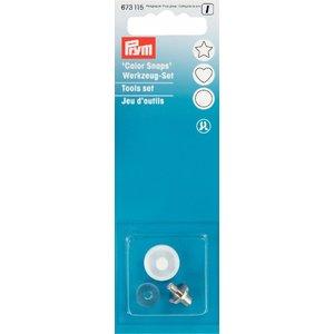 Billigtpyssel.se | Verktyg till plasttryckknappar - Color Snaps - tillbehör till Prymtång