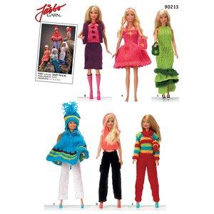 Billigtpyssel.se | Virkmönster - Barbiekläder i mini eller baby pascal