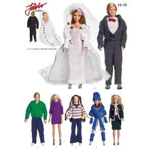 Billigtpyssel.se | Virkmönster - Barbiekläder
