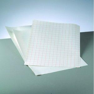 Billigtpyssel.se | Whiteboardfolie 42 x 30 cm / ~ DIN A3 - vit självhäftande - 1 st ark