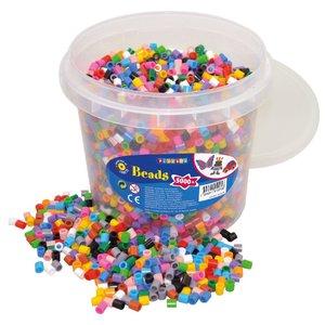 Billigtpyssel.se   XL-pärlor 5000 st 14 färg
