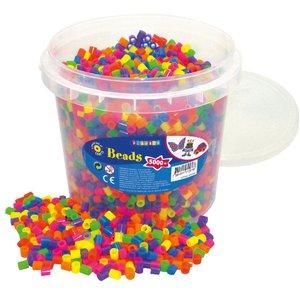 Billigtpyssel.se | XL-pärlor 5000 st neon