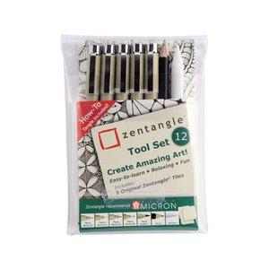 Zentangle Tool - 12 delar