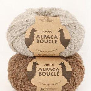 Drops Alpaca Bouclé garn - 50g