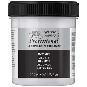 Akrylmedium W&N Professional - Matt gel