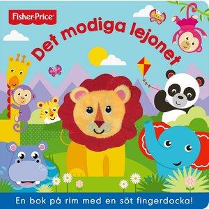 Barnbok Det modiga lejonet - Fisher-Price (fingerdocka)
