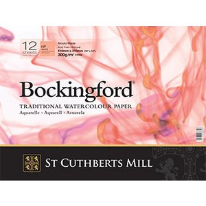 Akvarellblock Bockingford 300 G
