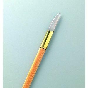 Agate polerverktyg 20 cm - för guldpåläggning