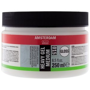 Amsterdam akrylmedium - Heavy gel medium - Glans