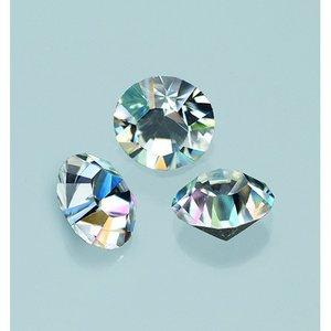 Ädelstenar Swarovski ø 3-5 mm - kristall