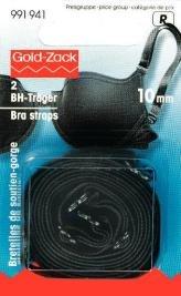 Axelband svart 10mm 2 st