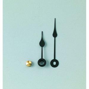 Visare 35 / 50 mm - svart 1 set / 3 delar