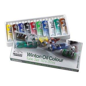 Oljefärg W&N Winton - set 10x37 ml
